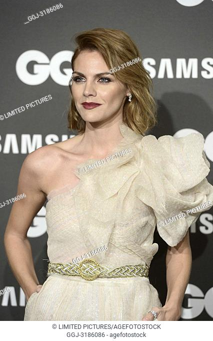 Amaia Salamanca attends GQ Men of the Year Awards 2018 at Palace Hotel on November 22, 2018 in Madrid, Spain