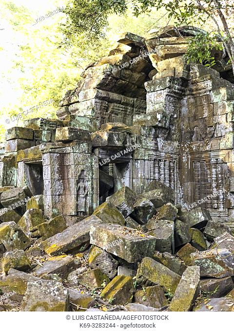 Ruins of Preah Khan. AngkorArchaeological Park. Siem Reap. Cambodia