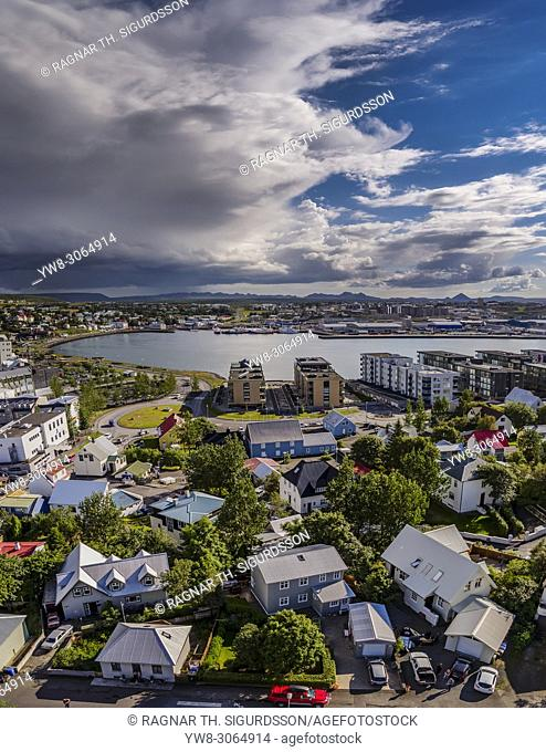 Hafnarfjordur, suburb of Reykjavik, Iceland