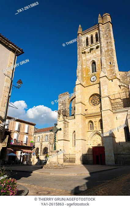 France, Gers (32), Town of Condom on the way of Saint Jacques de Compostelle, Carhedral Saint Pierre