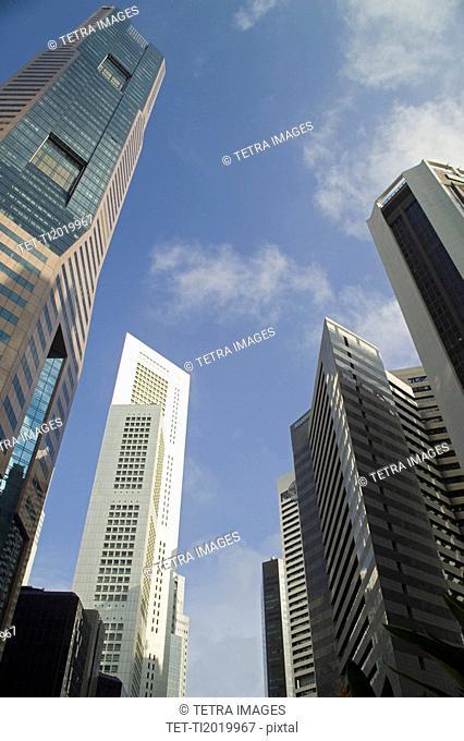 CBD Central Business District Singapore