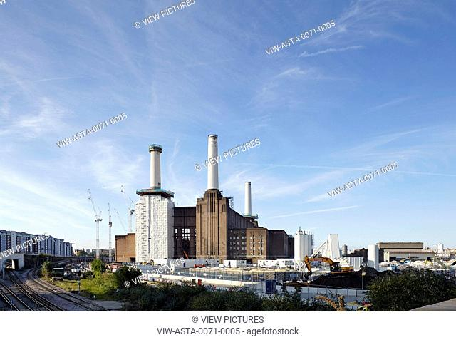 Originally designed by Sir Giles Gilbert Scott and constructed in 1933, Battersea Power Station was eventually closed down due t
