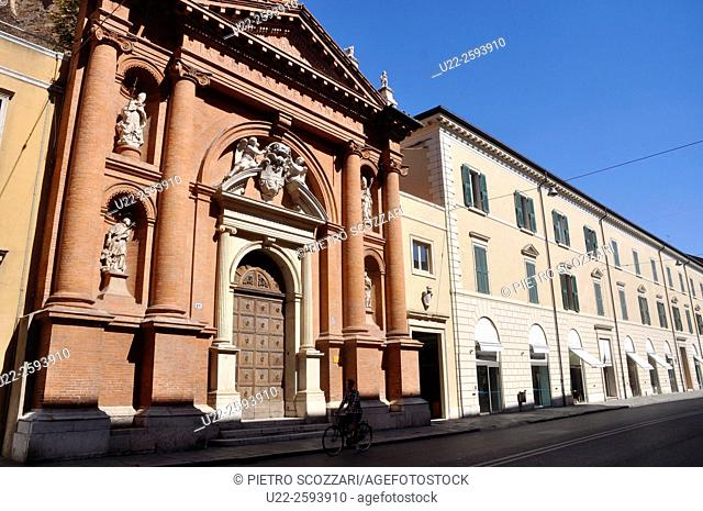 Italy, Emilia Romagna, Ferrara, San Carlo...