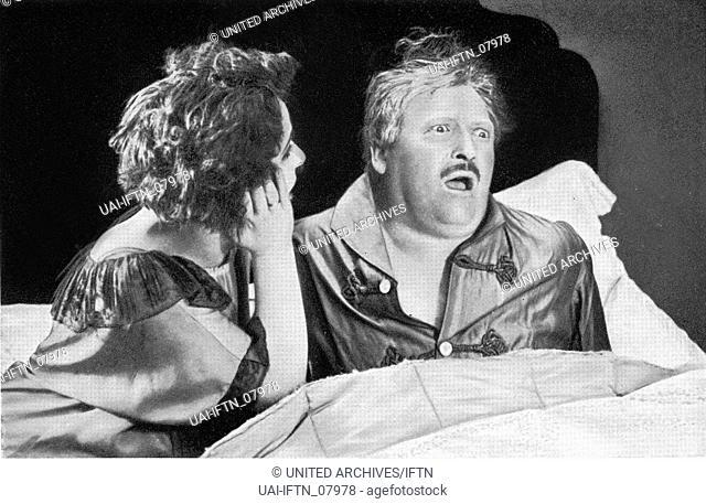Ruth Weyher und Werner Krauß (Werner Krauss) - Deutschland 1926 - Regie: Georg Wilhelm Pabst