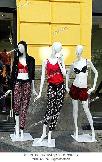 Mannequins, Madrid, spain