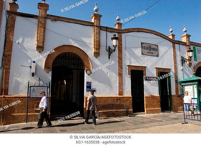 Municipal Market, Almonte, Huelva, Andalucia, Spain, Europe