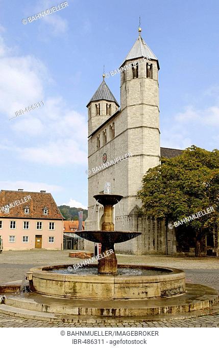 Bad Gandersheim Lower Saxony Germany Stiftskirche collegiate church