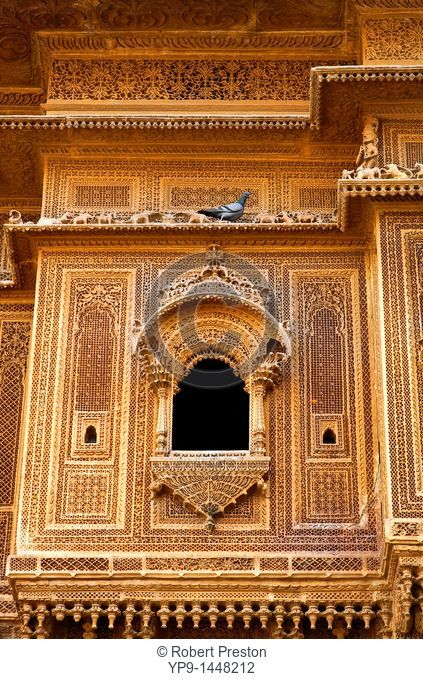 India - Rajasthan - Jaisalmer - haveli inside Jaisalmer Fort