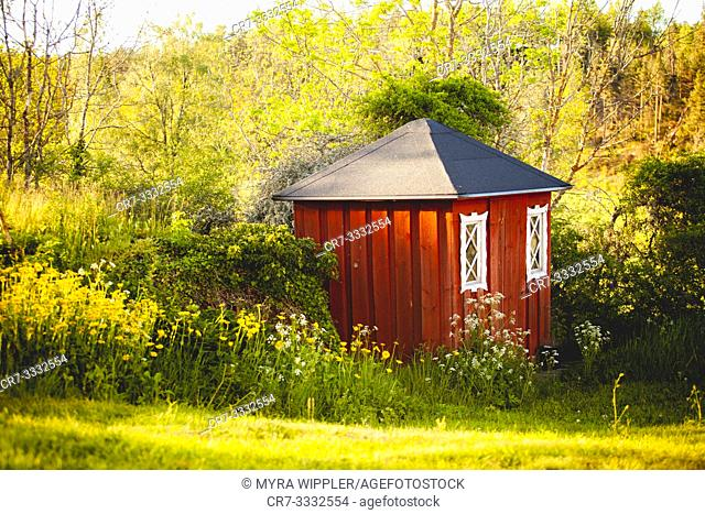 Small Swedish garden house