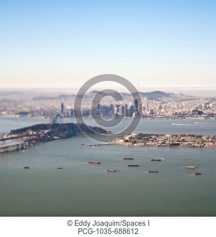 San Francisco Downtown and Bay