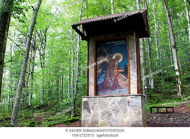 Road to the Assumption of St. John of Rila, Bulgaria