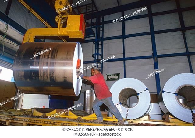 Steel industry. Mexico