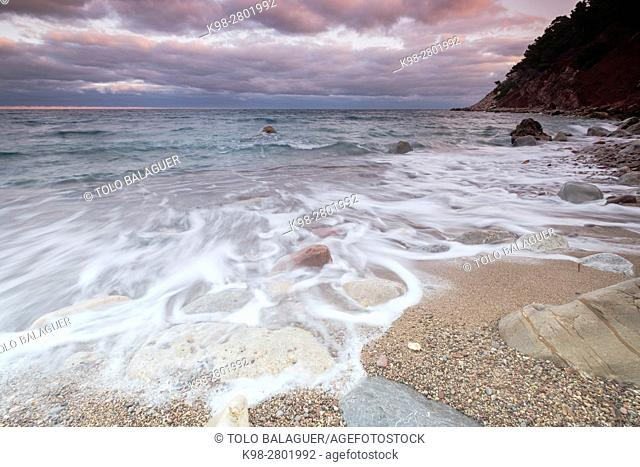 Port de Valldemossa, also known as Sa Marina, Valldemossa, Mallorca, balearic islands, spain, europe