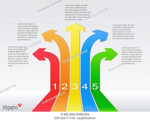 Infographics Arrow Banners