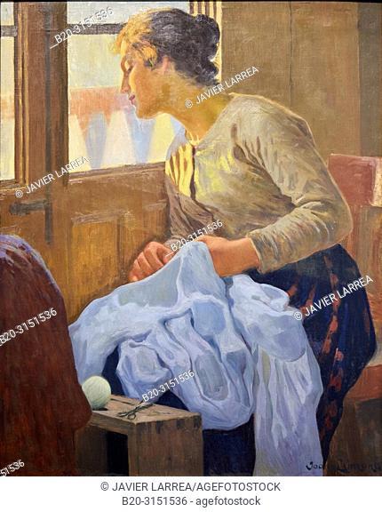 """""""The Wife"""", c. 1906, Joan Llimona, National Museum of Catalan Art, Museu Nacional d Art de Catalunya, MNAC, Barcelona, Spain, Europe"