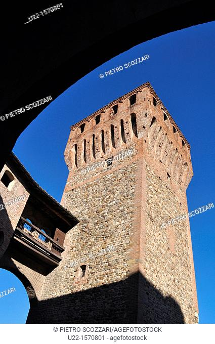 Vignola (Modena, Italy): a tower of the Castle
