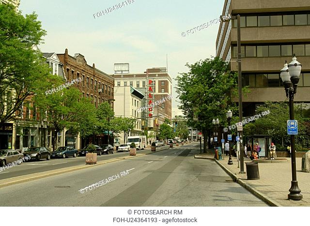Stamford, CT, Connecticut, Downtown