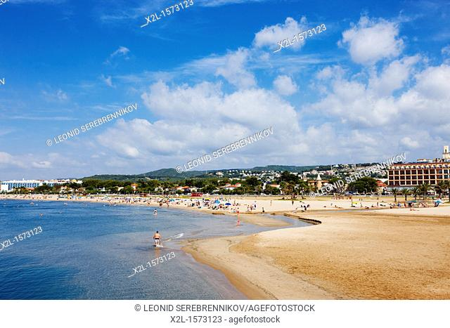 Coma Ruga beach  El Vendrell, Catalonia, Spain