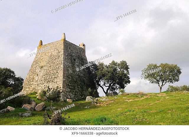 Muslim medieval watchtower Arronches Alentejo Portugal