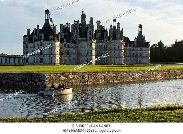 France, Loir et Cher, Loire Valley listed as World Heritage by UNESCO, Chateau de Chambord