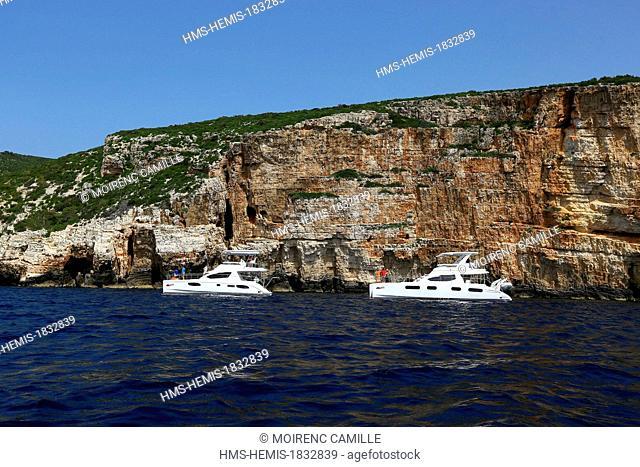 Croatia, Dalmatia, Dalmatian coast, Vis island, South Coast