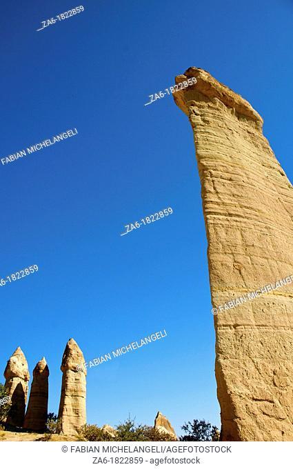 Fairy chimneys, Love Valley  Cappadocia, Central Anatolia, Turkey