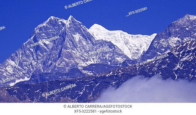 Nigliri, Annapurna Range, Trek to Annapurna Base Camp, Annapurna Conservation Area, Himalaya, Nepal, Asia