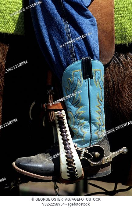 Cowboy boot, Colfax Jr. Rodeo, Colfax, Washington
