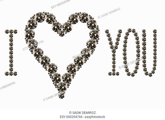 several diamonds
