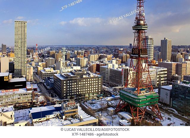 Skyline,Sapporo, Hokkaido, Japan