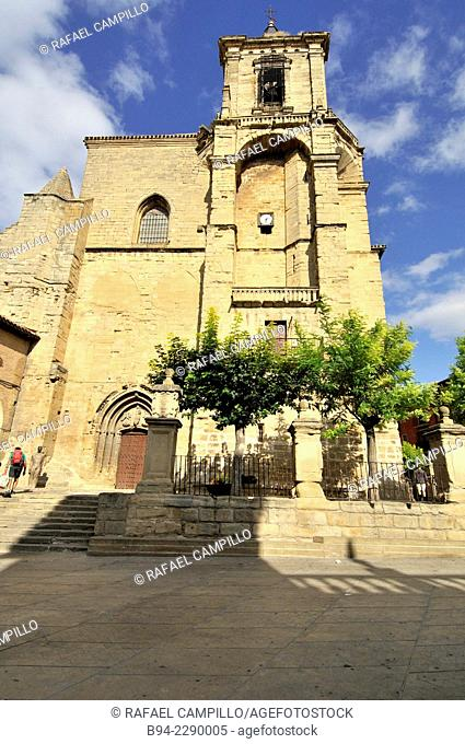 Santa Maria Church, Gothic and Renaissance, where the remains of Cesare Borgia, son of Pope Alexander VI. This church is a monumental construction of the...