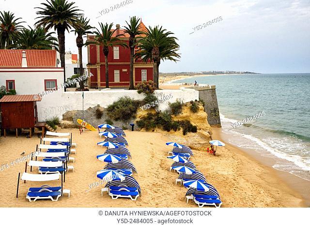 beach in Armacao de Pera, Silves, Algarve, Portugal, Europe