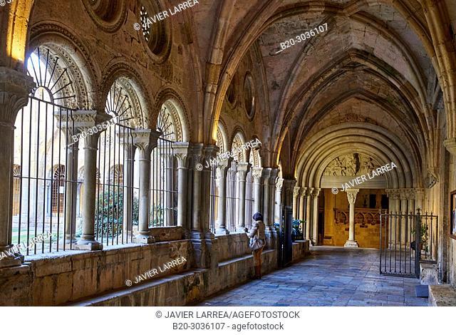 Cloister, Cathedral, Tarragona City, Catalonia, Spain, Europe