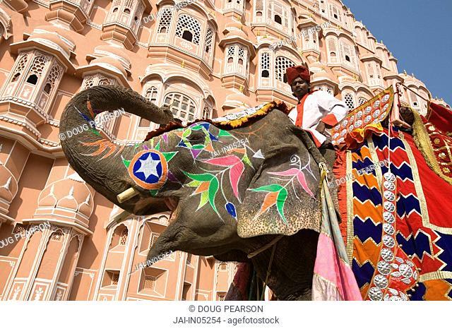 Palace of the Winds Hawa Mahal, Jaipur, Rajasthan, India