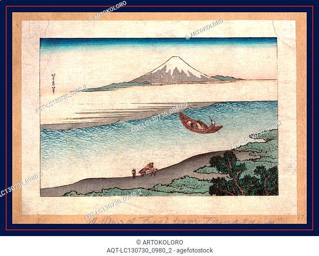 [Fukeiga], Katsushika, Hokusai, 1760-1849, artist, [between 1900 and 1940, from an earlier print], 1 print : woodcut, color