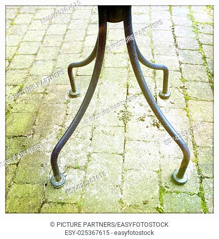 Table legs outdoor