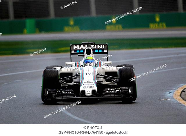 18.03.2016 - Free Practice 2, Felipe Massa (BRA) Williams FW38