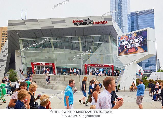 Ripley's Aquarium of Canada, downtown Toronto, Ontario, Canada