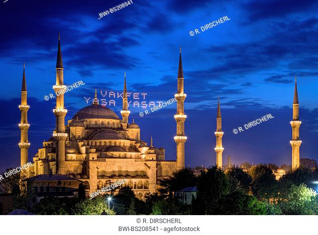 , Sultan Ahmed Mosque, Blue Mosque, Turkey, Istanbul