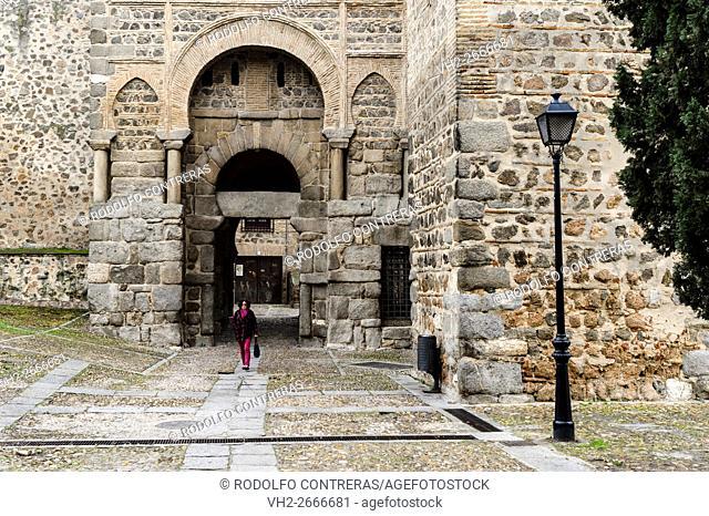 Medieval gate in Toledo