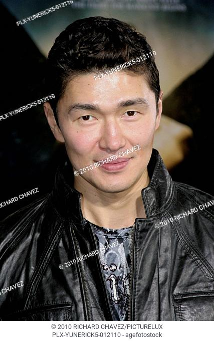 Rick Yune at the World Premiere of Screen Gems Legion. Arrivals held at the Arclight Hollywood at the Cinerama Dome in Hollywood, CA. January 21, 2010