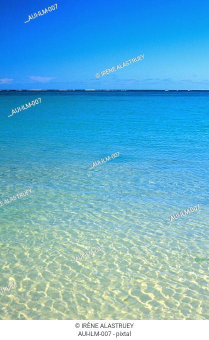 Mauritius - East Region - Belle Mare - sea
