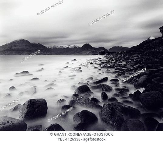 The Cuillin Mountains , Isle of Skye , Scotland