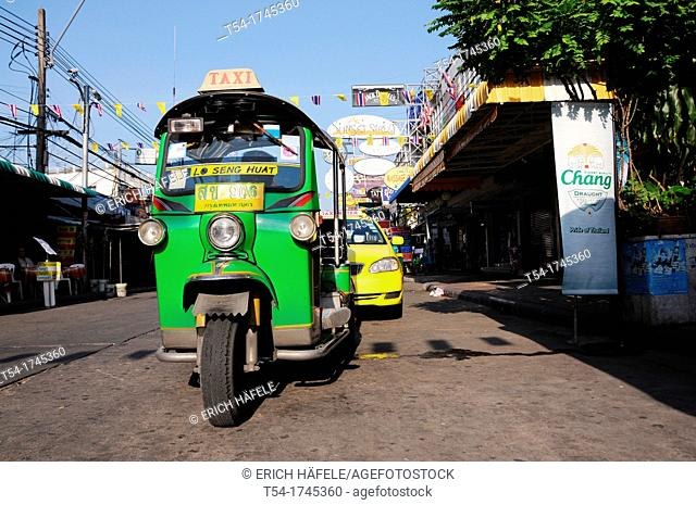 Tuk Tuk in the Khaosan Road in Bangkok