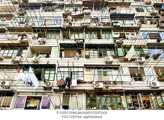 Apartment building, Shanghai, China