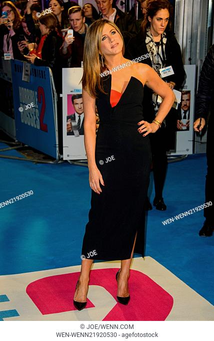 World premiere of 'Horrible Bosses 2' at the Odeon West End - Arrivals Featuring: Jennifer Aniston Where: London, United Kingdom When: 12 Nov 2014 Credit:...
