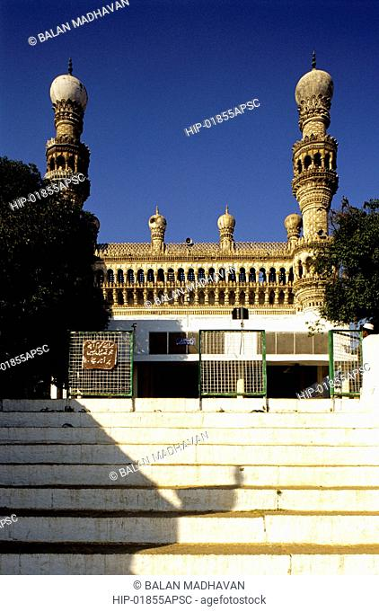 MOSQUE IN KHAIRATABAD, HYDERABAD, ANDHRA PRADESH,INDIA