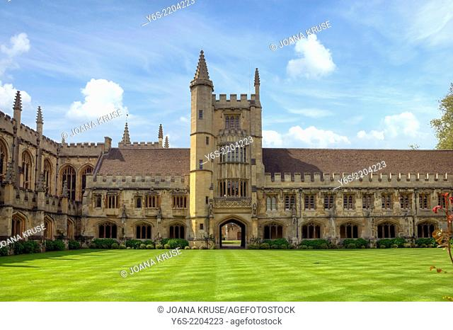Magdalen College, Oxford, Oxfordshire, England, United Kingdom