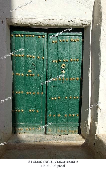 Door of a mosque at Ghadames, Ghadamis