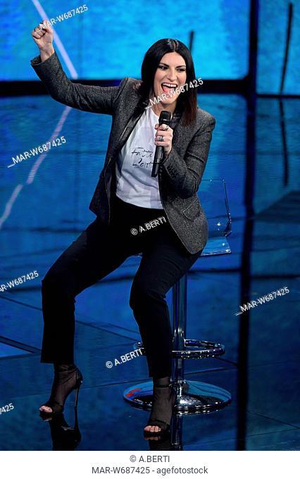 Laura Pausini milano 18-03-2018